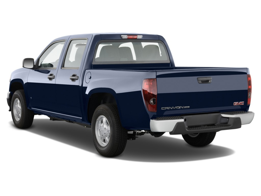 image 2012 gmc canyon 4wd crew cab slt angular rear exterior view size 1024 x 768 type gif. Black Bedroom Furniture Sets. Home Design Ideas