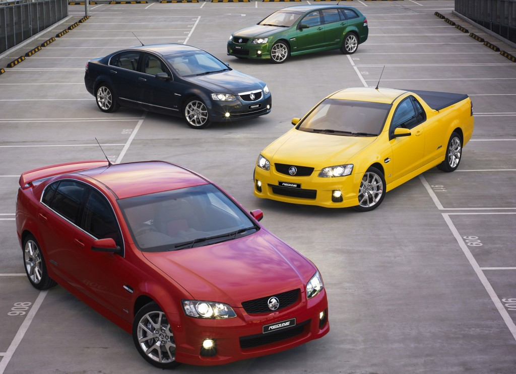 2012 Holden Commodore range