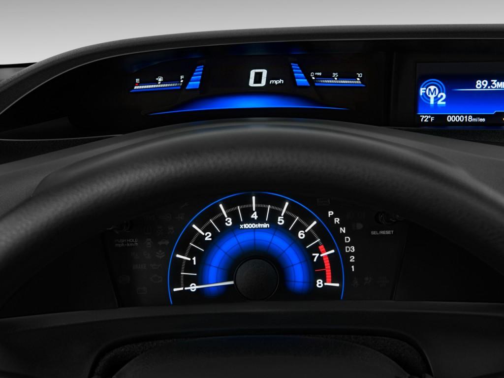 Image 2012 Honda Civic Coupe 2 Door Auto Ex Instrument Cluster Size 1024 X 768 Type Gif