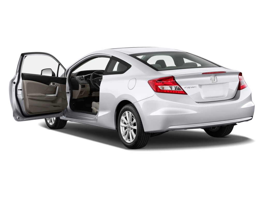 Image: 2012 Honda Civic Coupe 2-door Auto EX Open Doors ...
