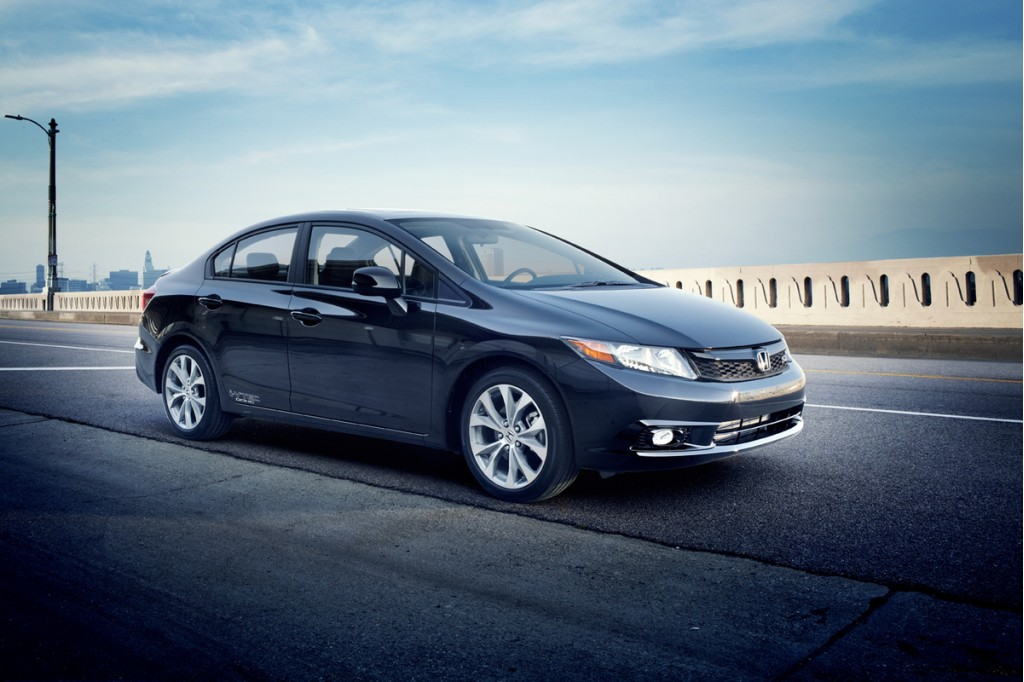 "2012 Honda Civic Rated ""Least Toxic"" Vehicle In New Study"
