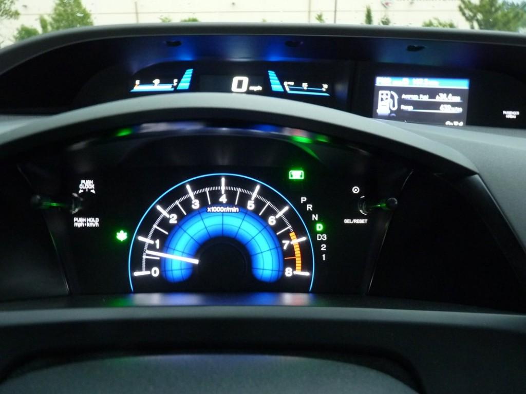 2012 Honda Civic HF  -  Driven