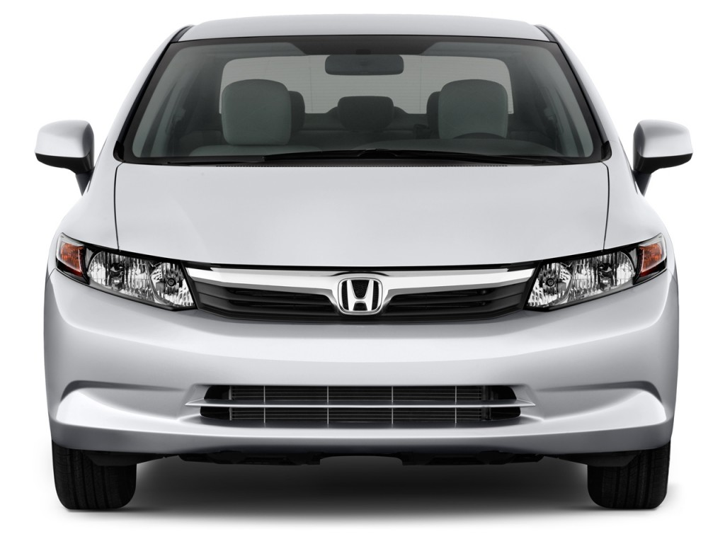 image 2012 honda civic sedan 4 door auto lx front. Black Bedroom Furniture Sets. Home Design Ideas