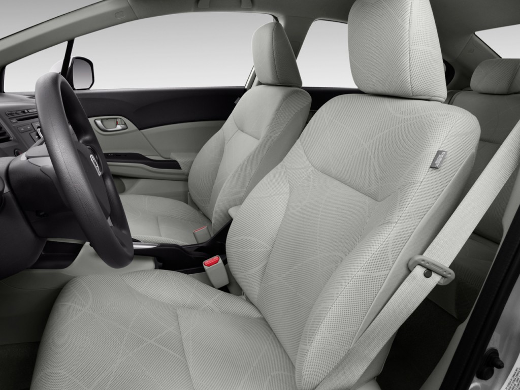 2016 Honda Cr Z Lx >> Image: 2012 Honda Civic Sedan 4-door Auto LX Front Seats ...