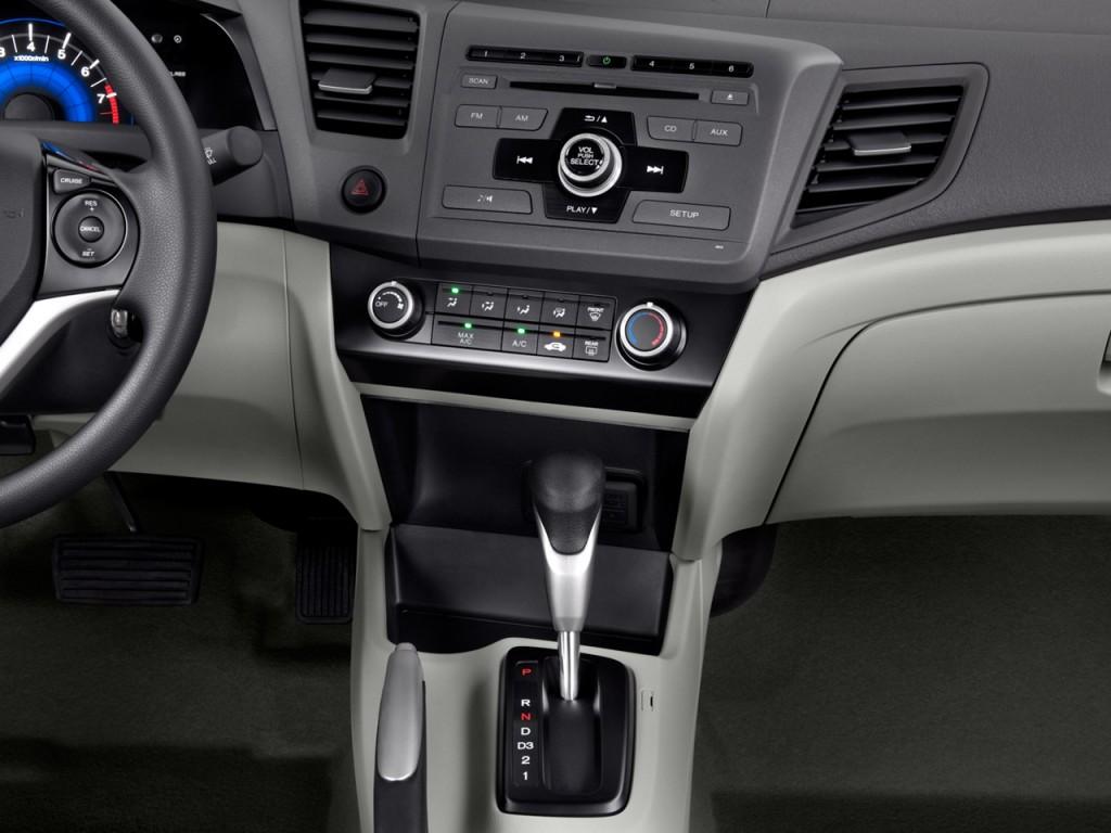 Image 2012 Honda Civic Sedan 4 Door Auto Lx Instrument