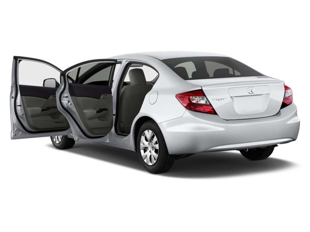 image 2012 honda civic sedan 4 door auto lx open doors. Black Bedroom Furniture Sets. Home Design Ideas