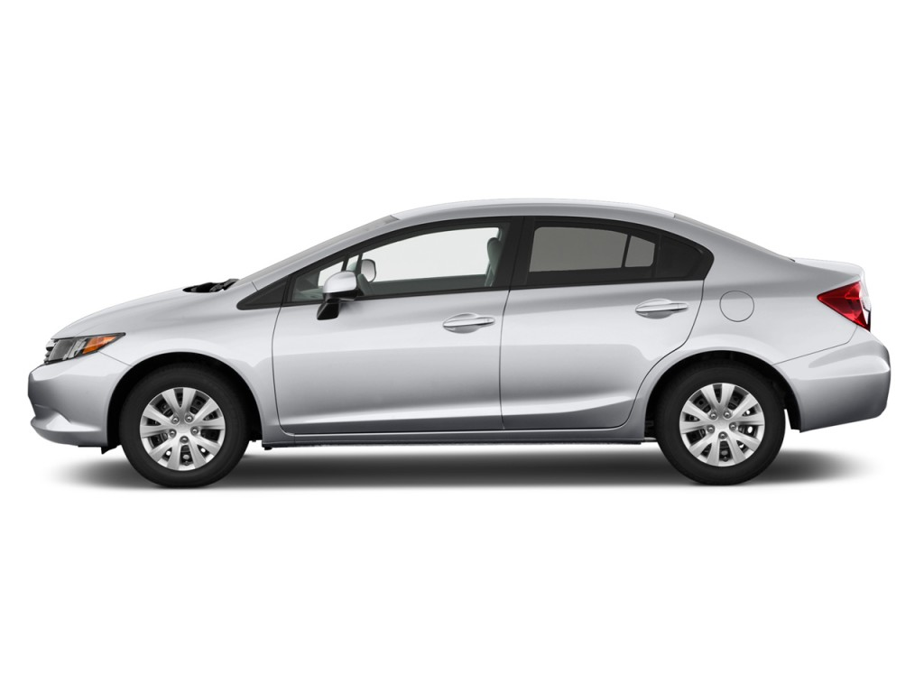 Image 2012 Honda Civic Sedan 4 Door Auto Lx Side Exterior