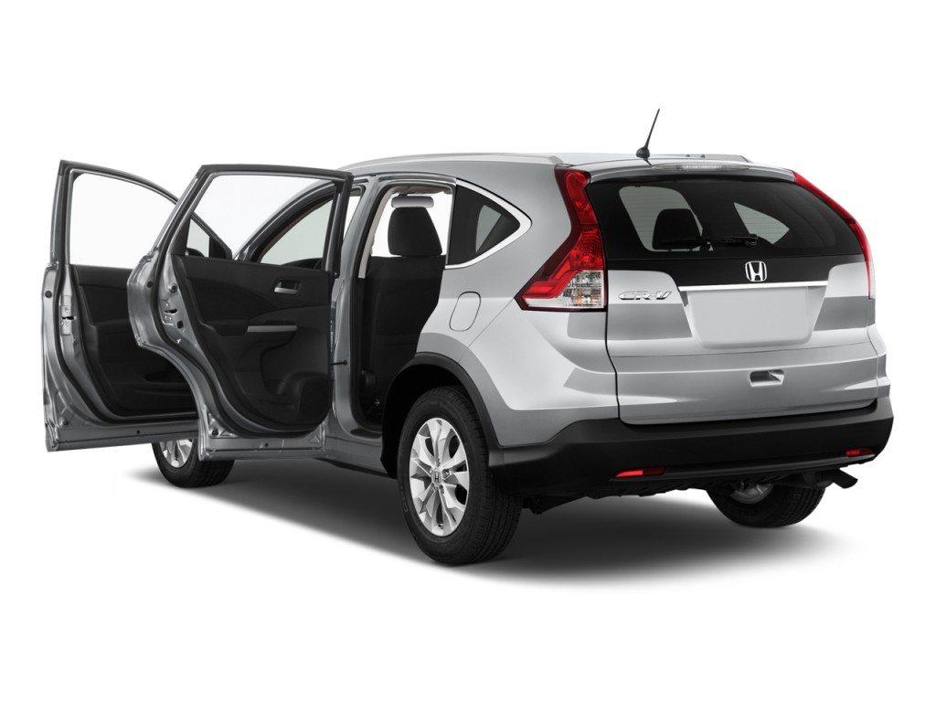 Image 2012 honda cr v 4wd 5dr ex l w navi open doors for Honda crv 4wd