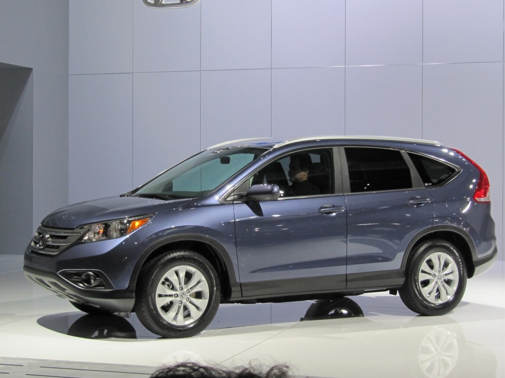 2012 Honda CR-V: Redesigned Compact Crossover Bows At The 2011 Los Angeles Auto Show