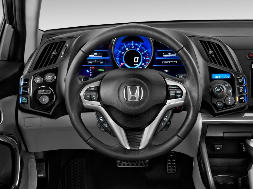 2012 Honda CR-Z 3dr CVT EX w/Navi Steering Wheel