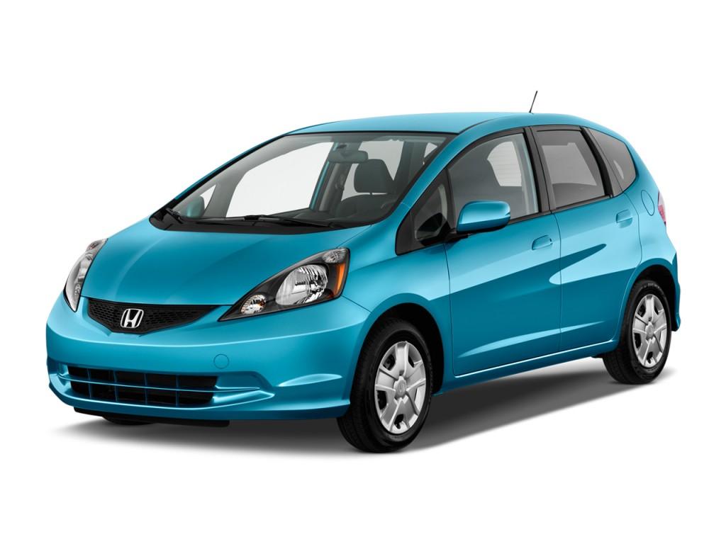 2012 Honda Fit 5dr HB Auto Angular Front Exterior View