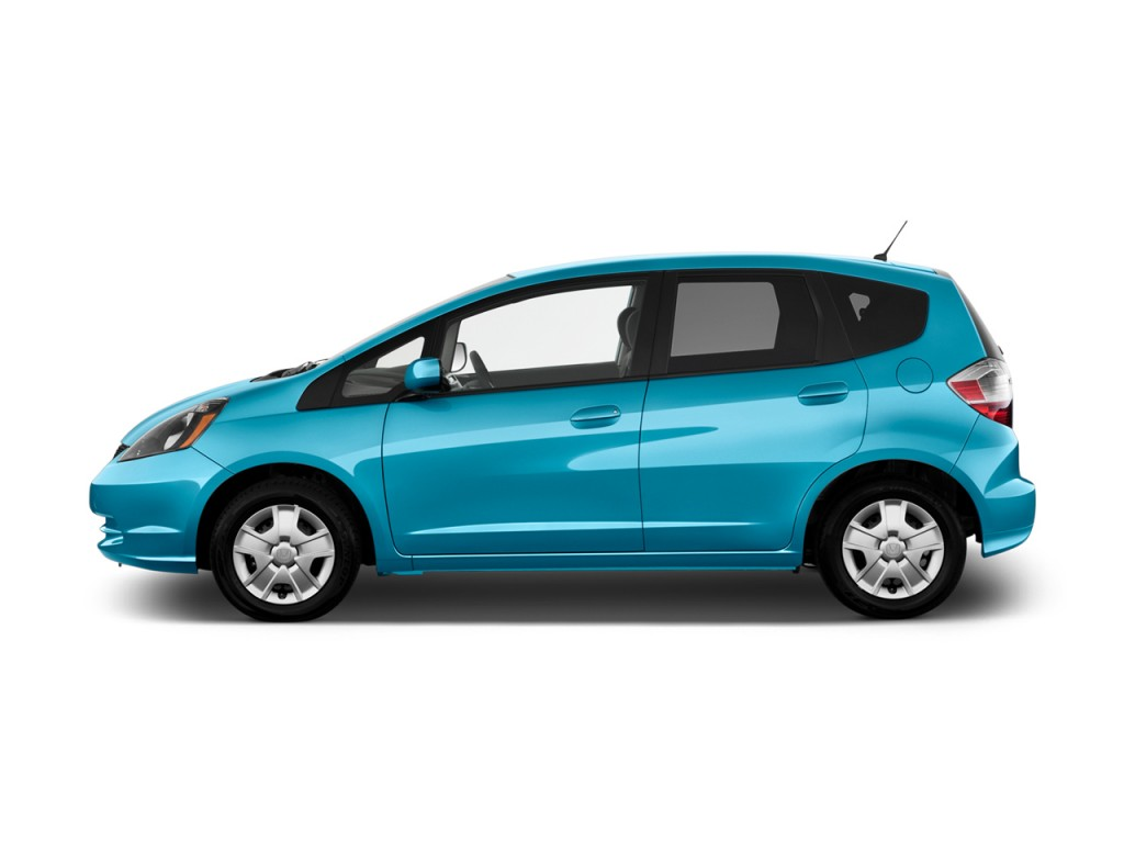 image 2012 honda fit 5dr hb auto side exterior view size 1024 x 768 type gif posted on. Black Bedroom Furniture Sets. Home Design Ideas