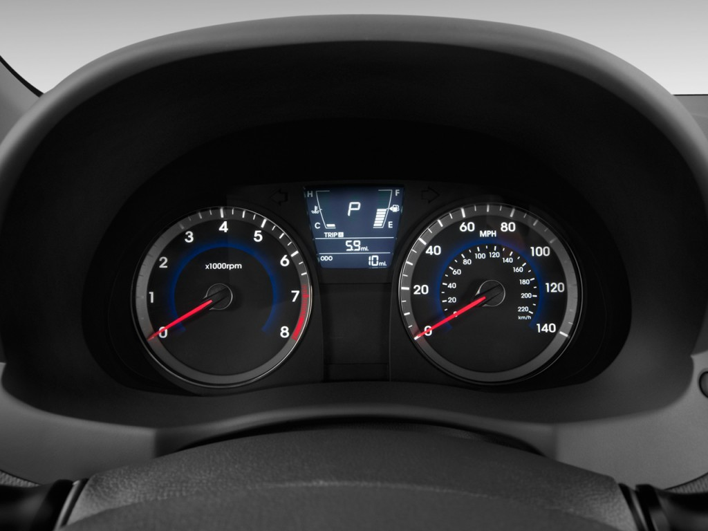 Image 2012 Hyundai Accent 5dr Hb Auto Se Instrument Cluster Size 1024 X 768 Type Gif