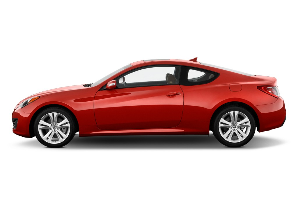 Image 2012 Hyundai Genesis Coupe 2 Door 3 8l Auto Grand Touring W Brn Lth Side Exterior View