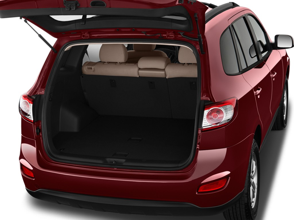 Image 2012 Hyundai Santa Fe Fwd 4 Door I4 Gls Trunk Size 1024 X 768 Type Gif Posted On
