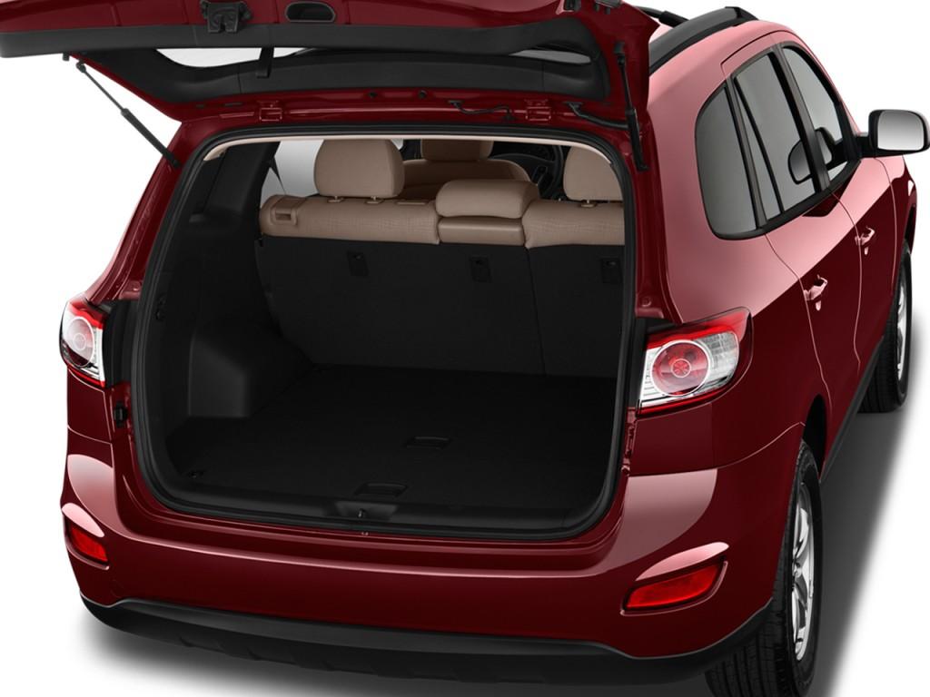 Image 2012 Hyundai Santa Fe Fwd 4 Door I4 Gls Trunk Size