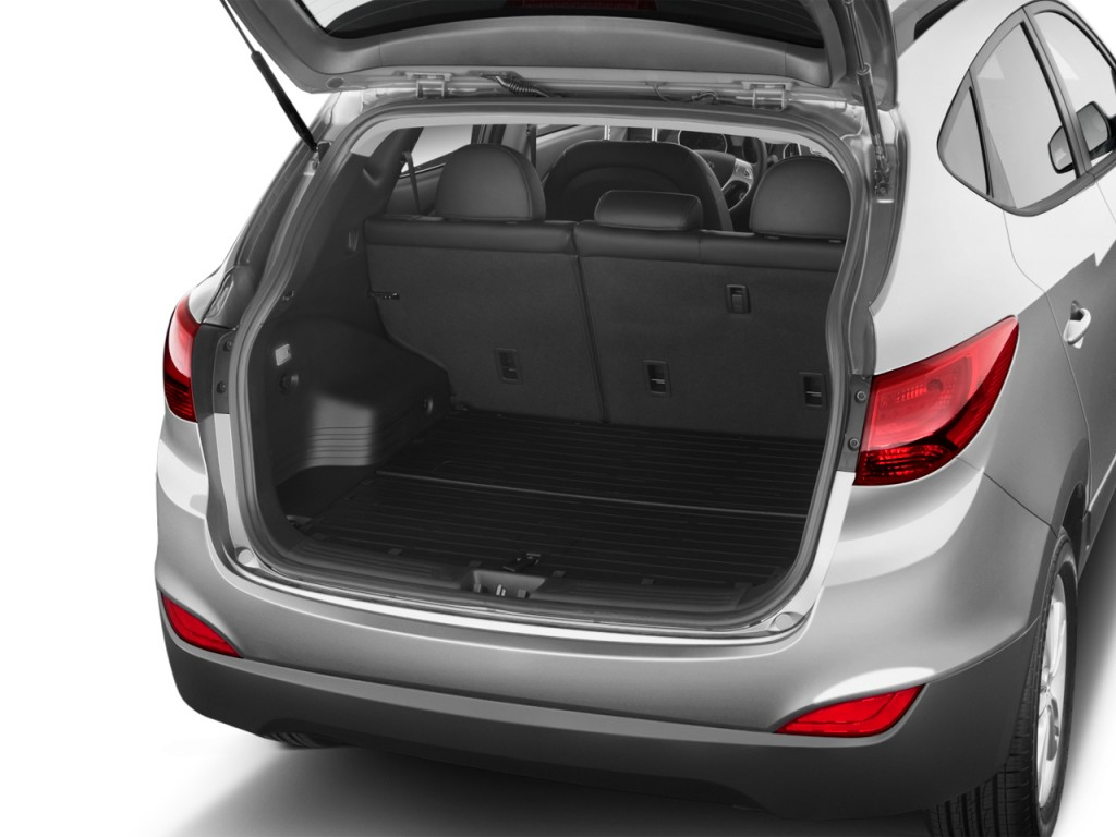 Image 2012 Hyundai Tucson Fwd 4 Door Auto Gls Trunk Size
