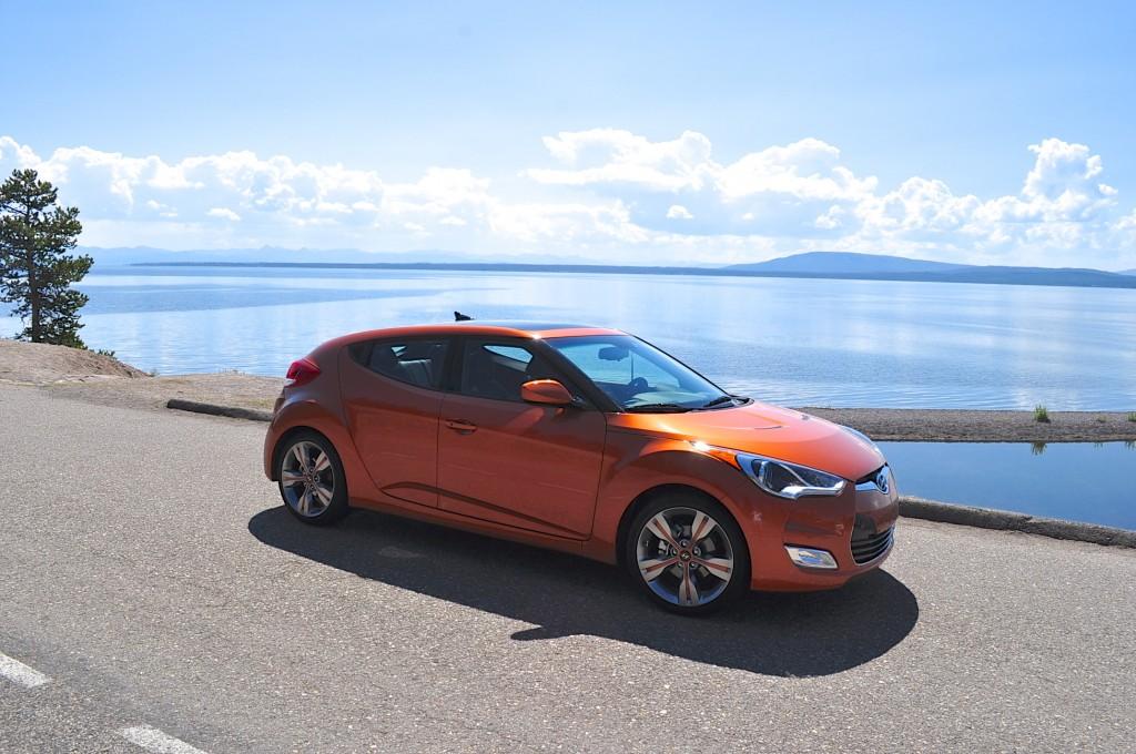 2012 Hyundai Veloster Six-Month Road Test: Yellowstone Photo Gallery