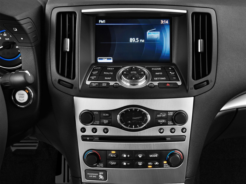 Image 2012 infiniti g37 coupe 2 door journey rwd audio system 2012 infiniti g37 coupe 2 door journey rwd audio system vanachro Images