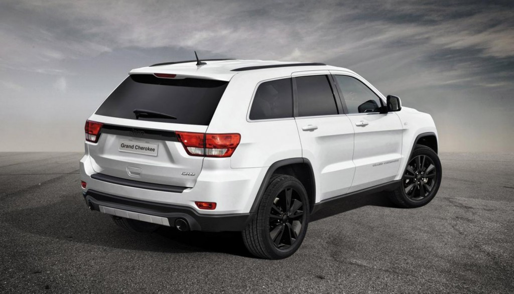 2012 Jeep Grand Cherokee production-intent sports concept