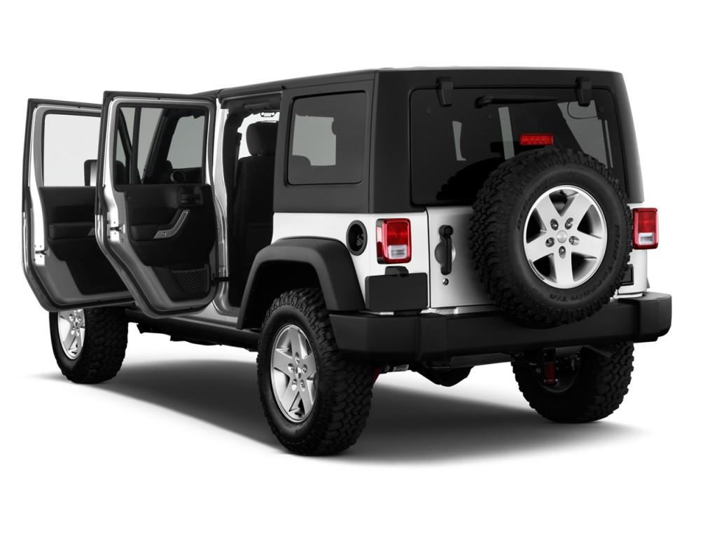 Image: 2012 Jeep Wrangler Unlimited 4WD 4-door Call of Duty MW3 Open Doors, size: 1024 x 768