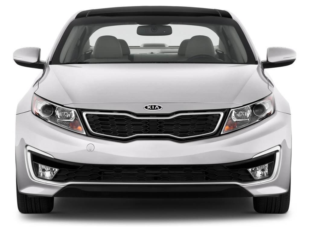 image 2012 kia optima 4 door sedan 2 4l auto ex hybrid front exterior view size 1024 x 768. Black Bedroom Furniture Sets. Home Design Ideas