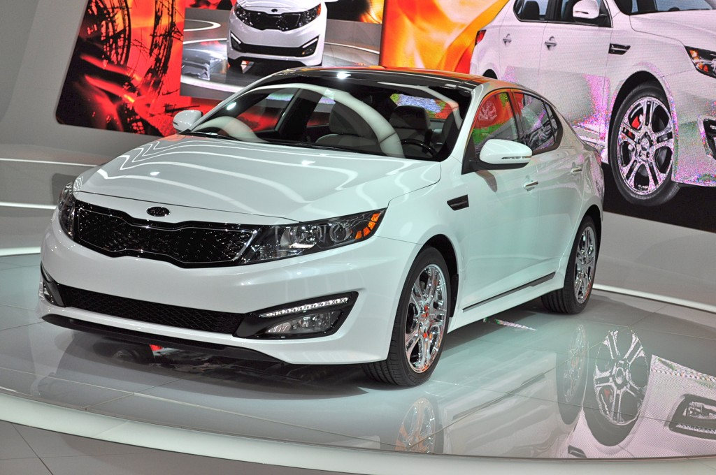 2012 Kia Optima SX Limited: 2012 Chicago Auto Show
