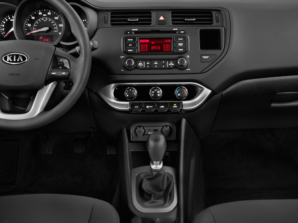 image 2012 kia rio 4 door sedan auto lx instrument panel size 1024 x 768 type gif posted. Black Bedroom Furniture Sets. Home Design Ideas