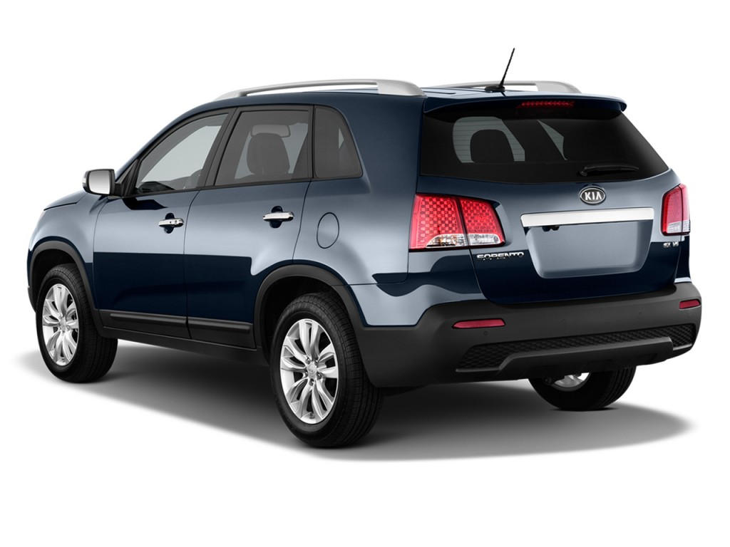 Image 2012 Kia Sorento 2wd 4 Door V6 Ex Angular Rear