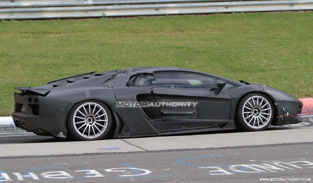 Image: 2012 Lamborghini Jota Murcielago replacement spy ...