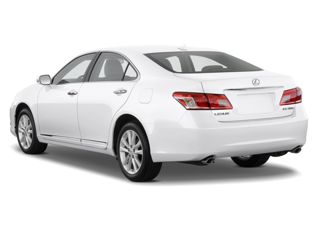image 2012 lexus es 350 4 door sedan angular rear. Black Bedroom Furniture Sets. Home Design Ideas