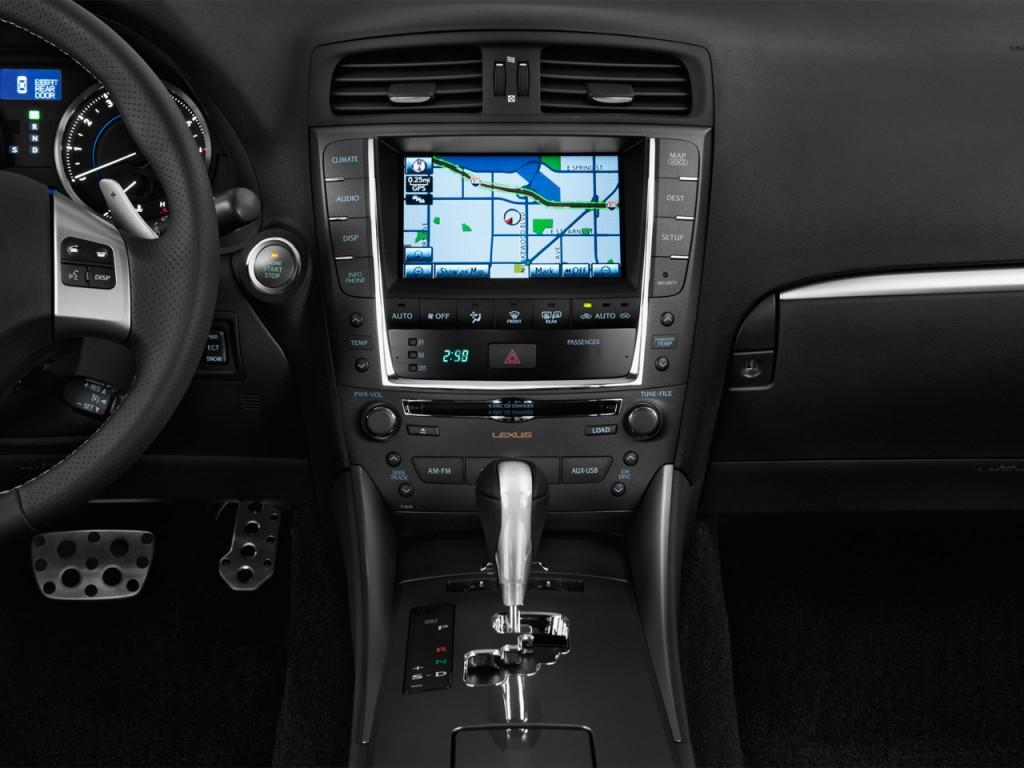 image 2012 lexus is 350 4 door sedan rwd instrument panel. Black Bedroom Furniture Sets. Home Design Ideas