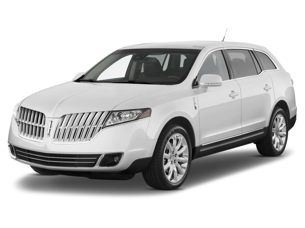 2012 Lincoln MKT 4-door Wagon 3.7L FWD Angular Front Exterior View