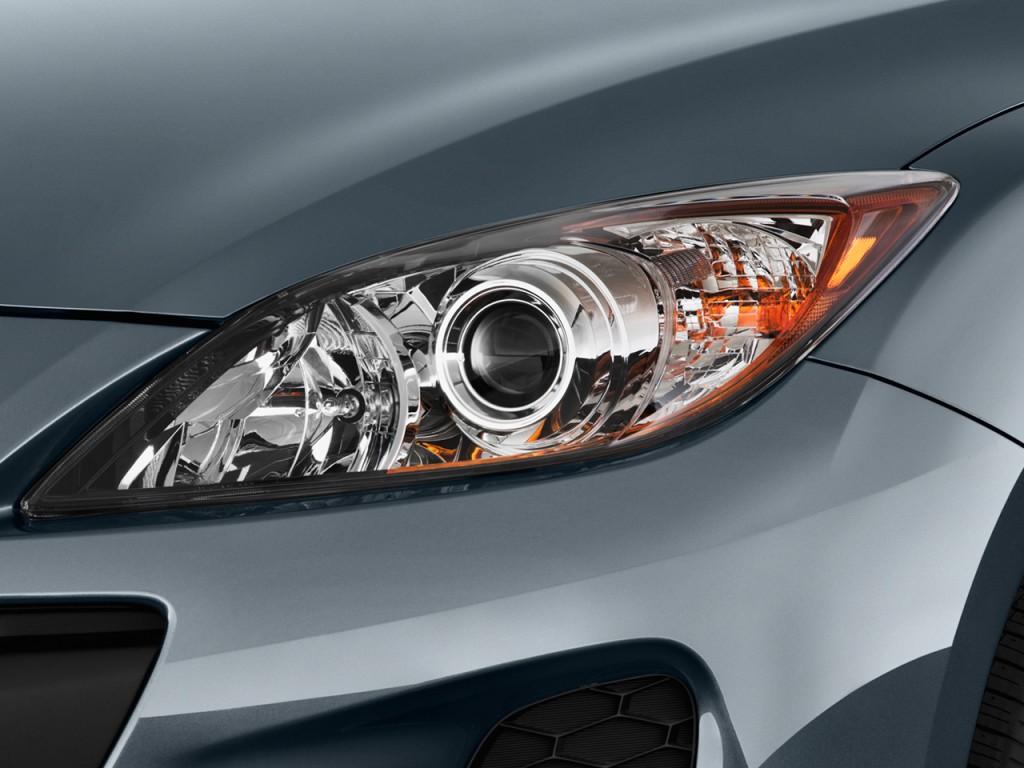 image 2012 mazda mazda3 5dr hb auto i touring headlight. Black Bedroom Furniture Sets. Home Design Ideas
