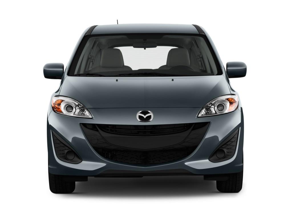 2012 Mazda MAZDA5 4-door Wagon Auto Sport Front Exterior View