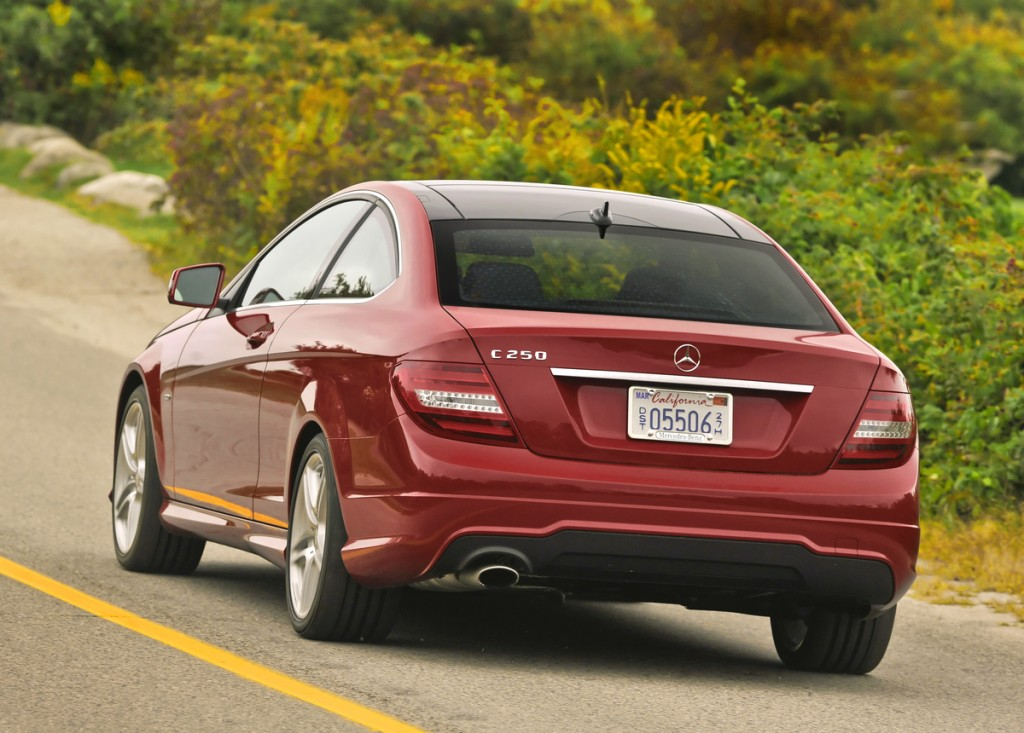 Fulfill Your Adventure In A 2012 Mercedes-Benz C-Class Coupe