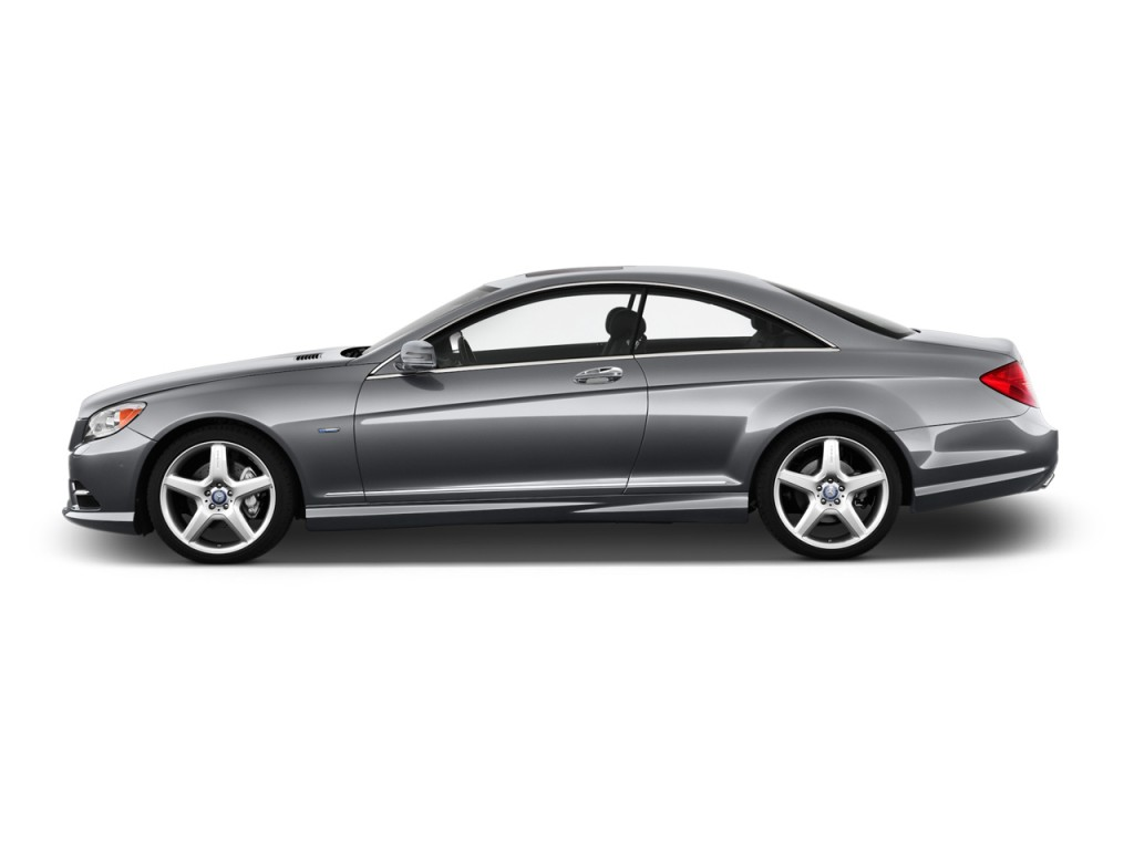 Image 2012 mercedes benz cl class 2 door coupe 5 5l v12 for Mercedes benz 2 door coupe 2010