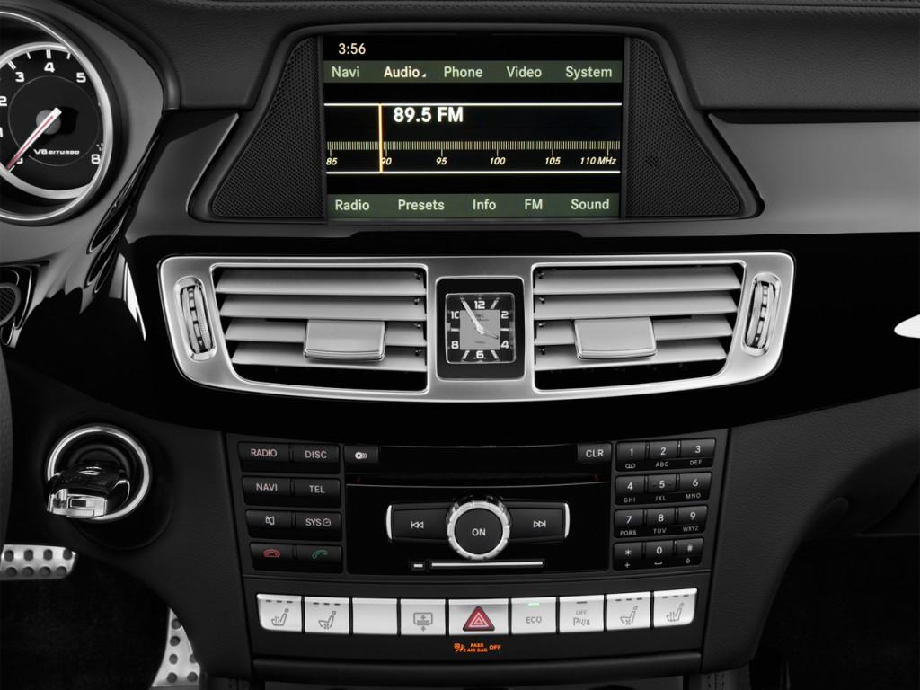 image 2012 mercedes benz cls class 4 door sedan cls63 amg rwd audio system size 1024 x 768. Black Bedroom Furniture Sets. Home Design Ideas