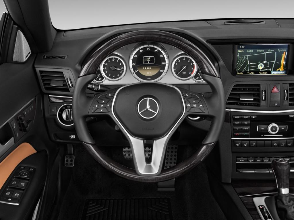 Image 2012 Mercedes Benz E Class 2 Door Cabriolet 3 5l