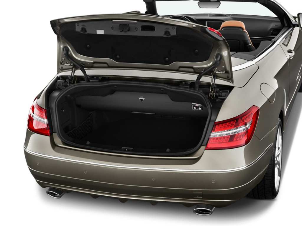 Image 2012 mercedes benz e class 2 door cabriolet 3 5l for How to open the trunk of a mercedes benz e320