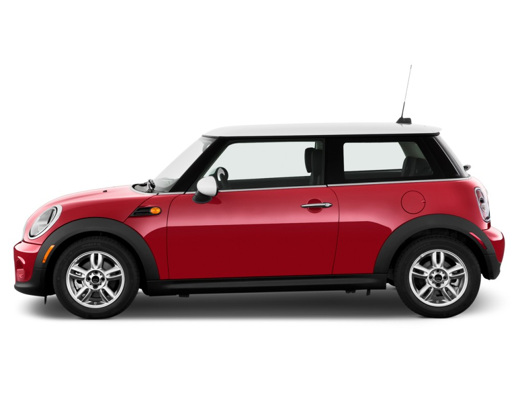 2012 MINI Cooper 2-door Coupe Side Exterior View