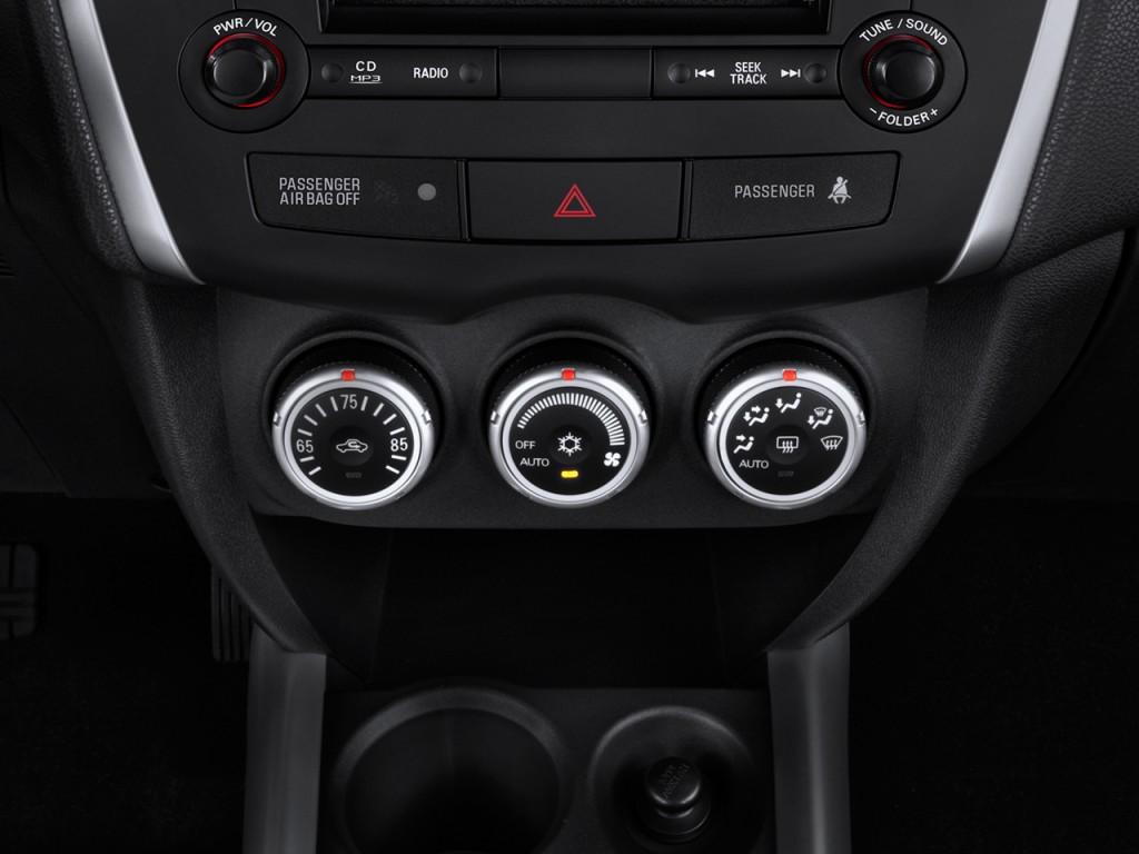 Image: 2012 Mitsubishi Outlander Sport 2WD 4-door CVT SE Temperature Controls, size: 1024 x 768 ...