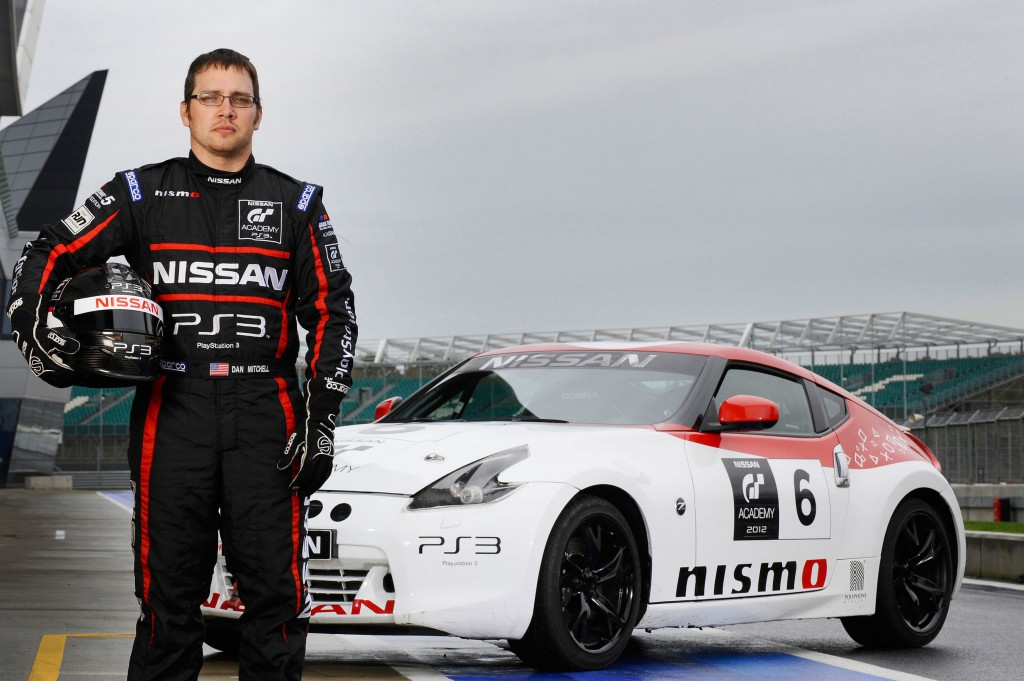 2012 Nissan GT Academy North America winner Steve Doherty