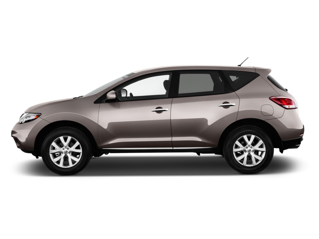 2012 Nissan Murano 2WD 4-door S Side Exterior View
