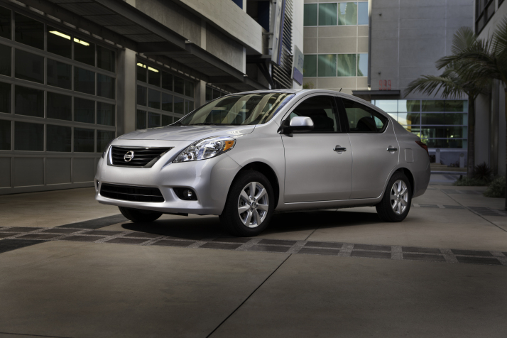 2012 Nissan Versa: Dirt-Cheap Compact Unveiled At 2011 NY Auto Show