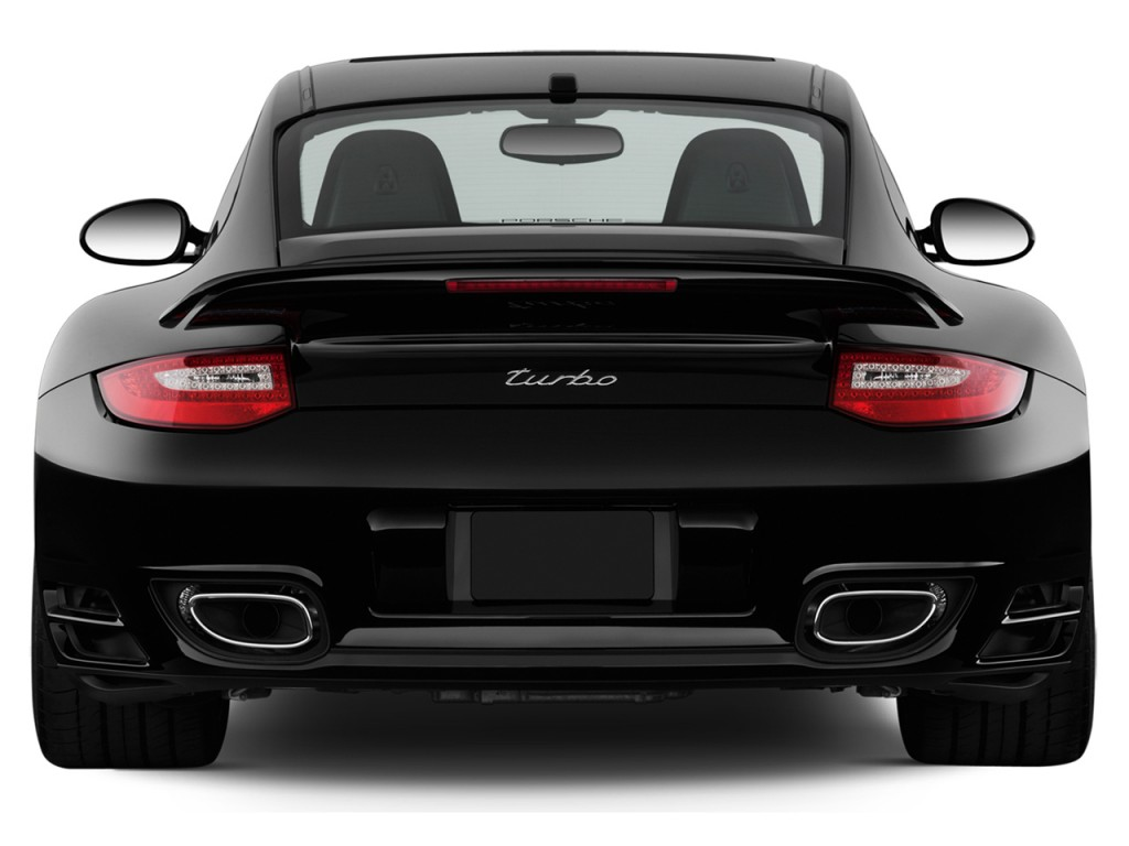 Image 2012 porsche 911 2 door coupe turbo rear exterior for Exterior rear house doors