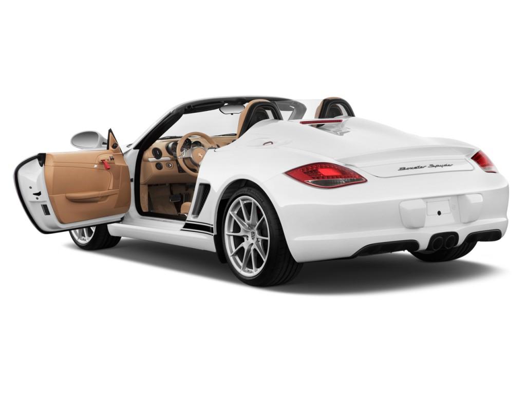 Image 2012 Porsche Boxster 2 Door Roadster Spyder Open