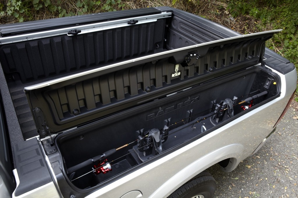2012 Ram with RamBox option. Image: Chrysler Group LLC