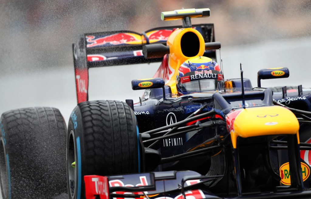 2012 Red Bull Racing Formula One race car