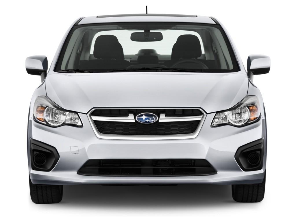 Image 2012 Subaru Impreza 4 Door Auto 2 0i Front Exterior